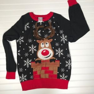Well Worn Christmas sweater Size L (not ugly)